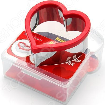 Форма для сэндвича и контейнер Mayer&Boch MB-24004 «Сердце» комплект mayer