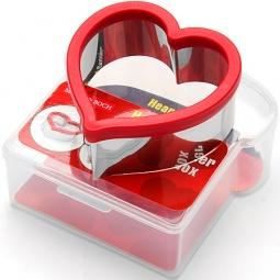 фото Форма для сэндвича и контейнер Mayer&Boch MB-24004 «Сердце»