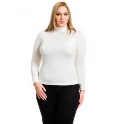 фото Водолазка Mondigo XL 146. Цвет: молочный. Размер одежды: 48