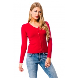 фото Жакет Mondigo 9130. Цвет: красный. Размер одежды: 46