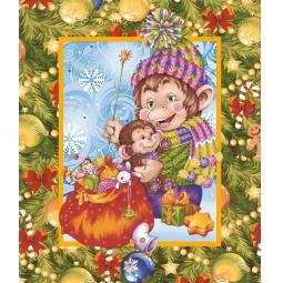 фото Полотенце вафельное ТексДизайн «Год обезьяны»