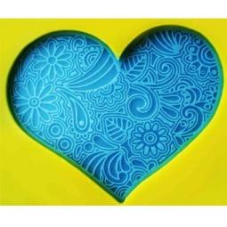 Купить Штамп для мыла Выдумщики «Кружевное Сердце»