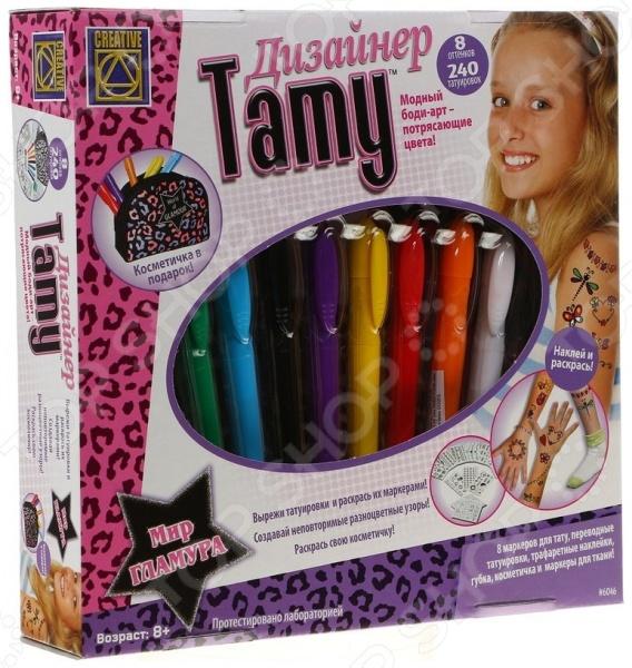 Игровой набор для модниц Creative «Дизайнер Тату» 6046