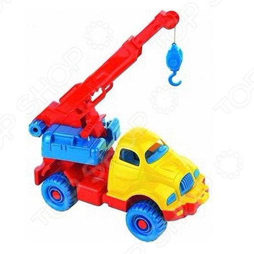 формочки игрушечные нордпласт формочка игрушечная Машинка игрушечная Нордпласт «Автокран космический»