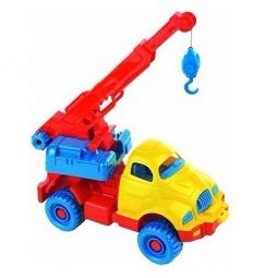 фото Машинка игрушечная Нордпласт «Автокран космический»
