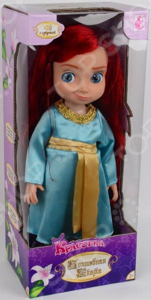 Кукла интерактивная 1 Toy «Красотка» Т58298 1 toy кукольный домик красотка колокольчик с мебелью 29 деталей