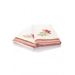 фото Комплект полотенец подарочный TAC Wintery. Цвет: бежевый