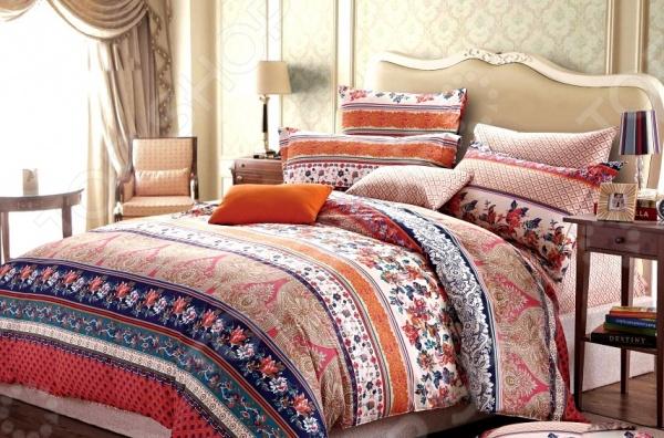 Комплект постельного белья Мар-Текс «Импульс». 1,5-спальный1,5-спальные<br>Комплект постельного белья Мар-Текс Импульс это удобное постельное белье, которое подойдет для ежедневного использования. Чтобы ваш сон всегда был приятным, а пробуждение легким, необходимо подобрать то постельное белье, которое будет соответствовать всем вашим пожеланиям. Приятный цвет, нежный принт и высокое качество ткани обеспечат вам крепкий и спокойный сон. 100 хлопок, из которого сшит комплект отличается следующими качествами:  достаточно мягка и приятна на ощупь, не имеет склонности к скатыванию, линянию, протиранию, обладает повышенной гигроскопичностью, практически не мнется, не растягивается, не садится, не выгорает, гипоаллергенна, хорошо отстирывается и не теряет при этом своих насыщенных цветов;  современная фотопечать прекрасно передаёт цвет и мельчайшие детали изображения;  за счёт специального переплетения волокон ткань устойчива к механическим воздействиям. Ткань устойчива к механическим воздействиям. Перед первым применением комплект постельного белья рекомендуется постирать. Перед стиркой выверните наизнанку наволочки и пододеяльник. Для сохранения цвета не используйте порошки, которые содержат отбеливатель. Рекомендуемая температура стирки: 40 С и ниже без использования кондиционера или смягчителя воды.<br>