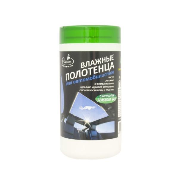 фото Набор полотенец влажных универсальных Риком PK-850821 «Зеленый чай»