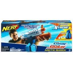 фото Оружие игрушечное Hasbro Водяной бластер Супер Соакер Арктик Шок
