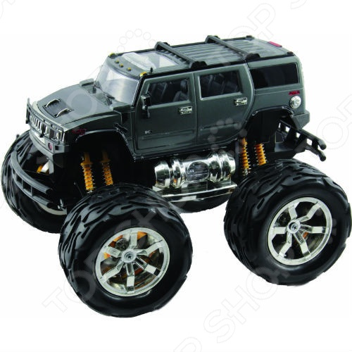 Автомобиль на радиоуправлении 1:26 KidzTech Hummer H2 устройство hummer h2 12000mah