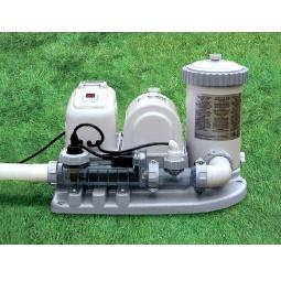 Купить Фильтр-насос и система соленой воды для бассейна Intex 54612