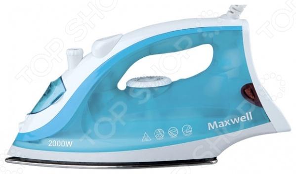 Утюг Maxwell MW-3046Утюги<br>Утюг Maxwell MW-3046 это удобный и функциональный образец домашней бытовой техники, с помощью которого вам удастся быстро и без особых усилий погладить большое количество вещей, белья и всего, что необходимо. Утюг обладает функциями распыления воды из отверстий на носике прибора. С их помощью можно легко прогладить быстро мнущиеся вещи. Удобный и функциональный дизайн корпуса, обеспечен защитой от накипи и протеканий. Еще больше практичности добавляет гладкое покрытие подошвы, которое ускоряет процесс глажки и делает его намного эффективнее. Мощность утюга составляет 2000 Вт, что позволяет легко справляться даже с самыми трудными складками. Данная модель утюга добавит простоты в домашние заботы, позволив немного сэкономить время на себя.<br>