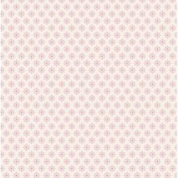 фото Отрез ткани Tilda Цветок-звездочка. Цвет: розовый