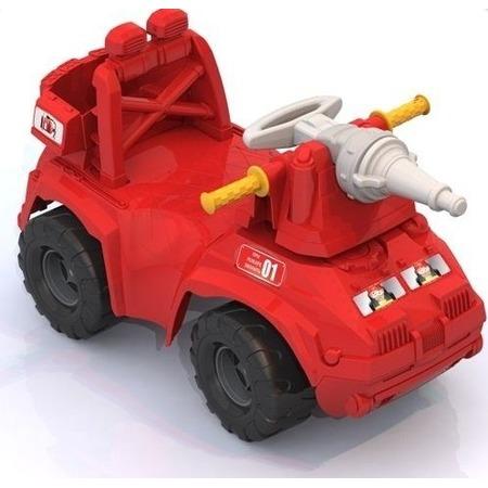 Купить Машина-каталка Нордпласт «Пожарная машина»
