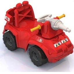 фото Машина-каталка Нордпласт «Пожарная машина»