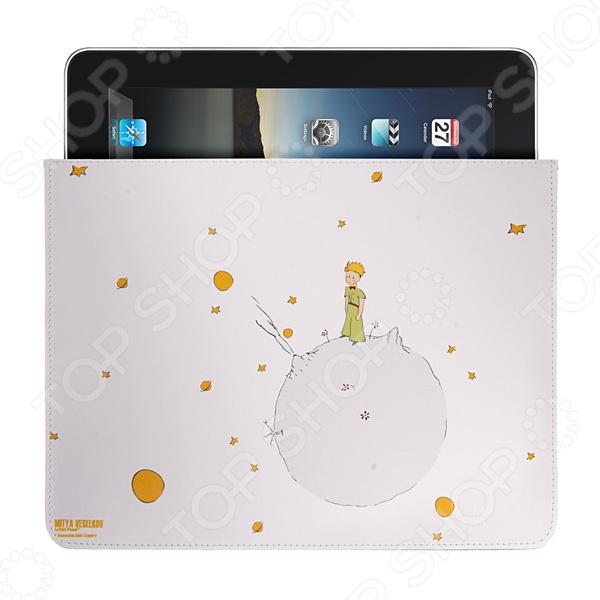 Чехол для iPad Mitya Veselkov «Маленький принц на планете вулканов» чехол для карточек маленький принц принц на синем фоне дк2017 084