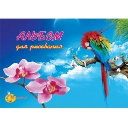 фото Альбом для рисования КубаньПечать «Попугай»