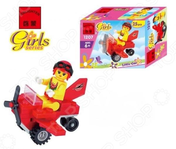 Конструктор игровой Brick Girls Series «Мини-самолет»