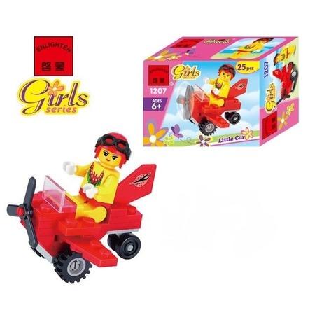 Купить Конструктор игровой Brick Girls Series «Мини-самолет»