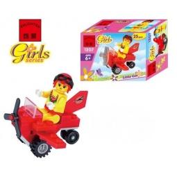 фото Конструктор игровой Brick Girls Series «Мини-самолет»