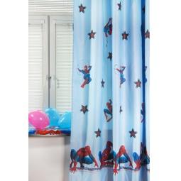 фото Портьера TAC Spiderman. Цвет: голубой