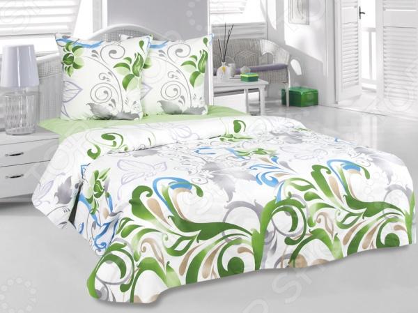 Комплект постельного белья Tete-a-Tete «Нежность». СемейныйСемейные<br>Комплект постельного белья Tete-a-Tete Нежность это удобное постельное белье, которое подойдет для ежедневного использования. Чтобы ваш сон всегда был приятным, а пробуждение легким, необходимо подобрать то постельное белье, которое будет соответствовать всем вашим пожеланиям. Приятный цвет, нежный принт и высокое качество ткани обеспечат вам крепкий и спокойный сон. Бязь, из которой сшит комплект отличается следующими качествами:  100 натуральное хлопковое волокно;  высокая гигроскопичность и антибактериальные свойства;  высокая прочность и эластичность;  даже после многократных стирок не линяет и не теряет своих свойств. Постельное белье этой марки отличается экологически чистыми материалами и устойчивыми красителями. Что бы сохранить цвет и другие характеристики ткани, следует стирать при температуре 40 градусов, а так же выбирать щадящий режим сушки и отжима. Перед стиркой следует вывернуть пододеяльник и наволочки наизнанку. Стирать с постельным бельем из других видов тканей не рекомендуется во избежание потери качества.<br>