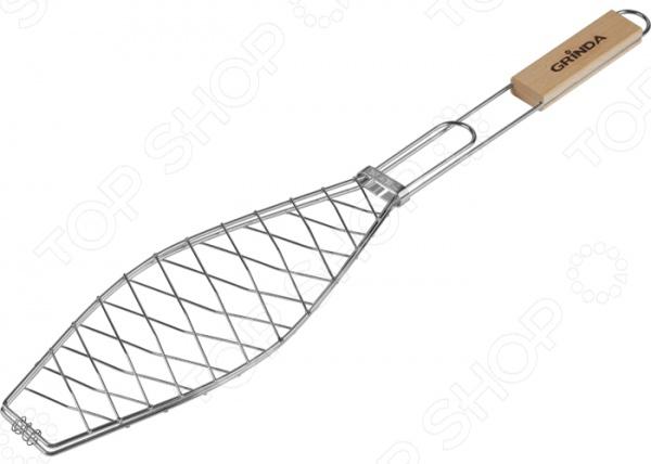 Решетка-гриль для рыбы Grinda Barbecue 4247 Решетка-гриль для рыбы Grinda Barbecue 424720 /360х130 мм