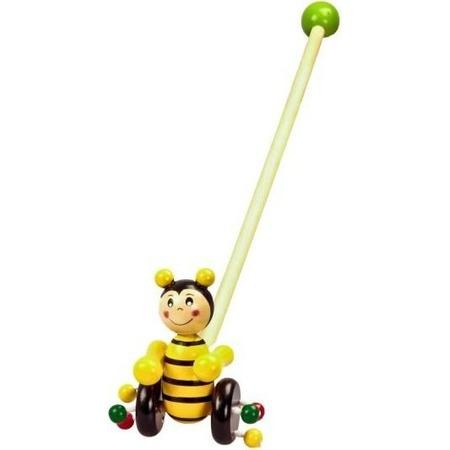 Купить Каталка для малыша на палочке Mapacha «Пчелка»