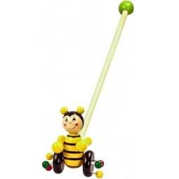фото Каталка для малыша на палочке Mapacha «Пчелка»