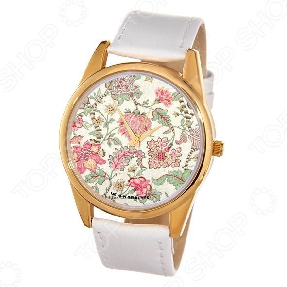 Часы наручные Mitya Veselkov «Розовые лотосы» Shine