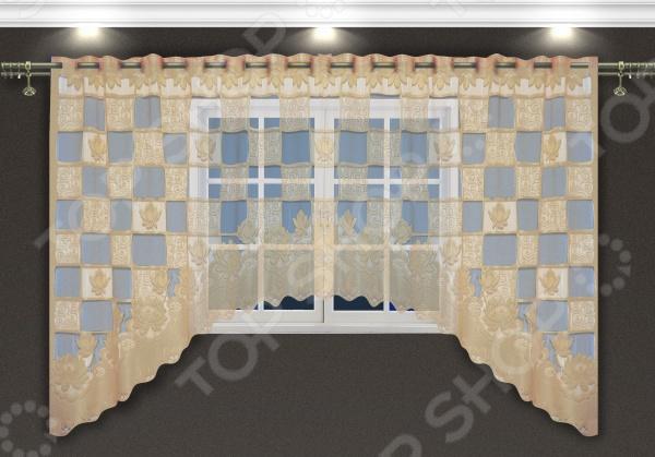 Гардина-арка Zlata Korunka Square Tiles
