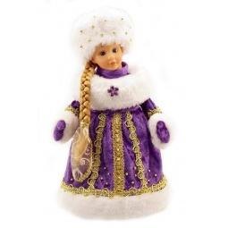 фото Игрушка под елку музыкальная Новогодняя сказка «Снегурочка в фиолетовом»