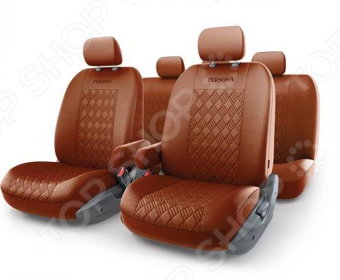 Набор чехлов для сидений с аэробэгом Autoprofi PER-1305GF Persona Full