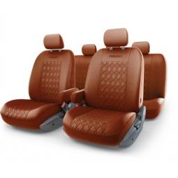 Купить Набор чехлов для сидений с аэробэгом Autoprofi PER-1305GF Persona Full