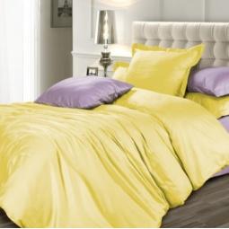 фото Комплект постельного белья Унисон «Лимонный фреш». Евро