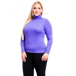 фото Водолазка Mondigo XL 046. Цвет: ярко-сиреневый. Размер одежды: 48