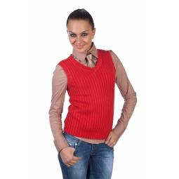 фото Жилет Mondigo 9007-43. Цвет: красный. Размер одежды: 46