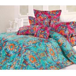фото Комплект постельного белья Унисон «Мистери». Евро