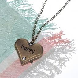 Купить Кулон-часы Mitya Veselkov «Сердце-Happy»