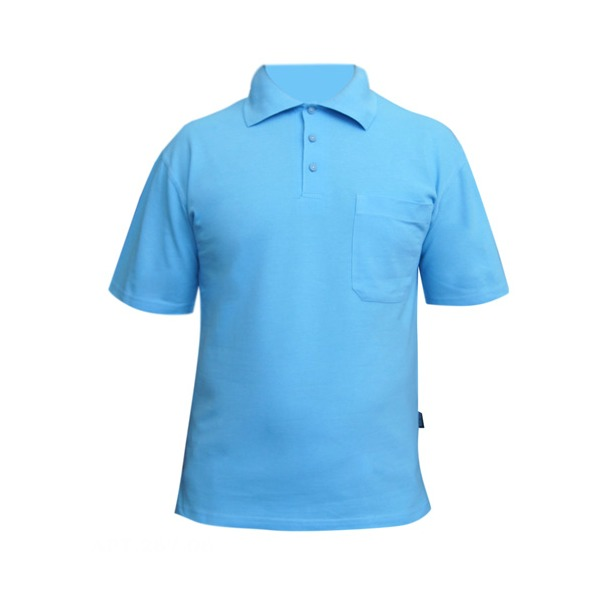 фото Поло мужское Dodogood М287. Цвет: голубой. Размер одежды: 48
