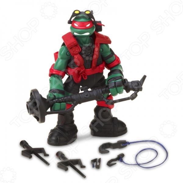 Фигурка с секретным приемом Turtles Рафаэль игровые фигурки turtles фигурка черепашки ниндзя леонардо dojo 28 см