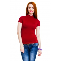 фото Водолазка Mondigo 037. Цвет: бордовый. Размер одежды: 46