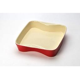 фото Противень Mayer&Boch керамический. Цвет: красный