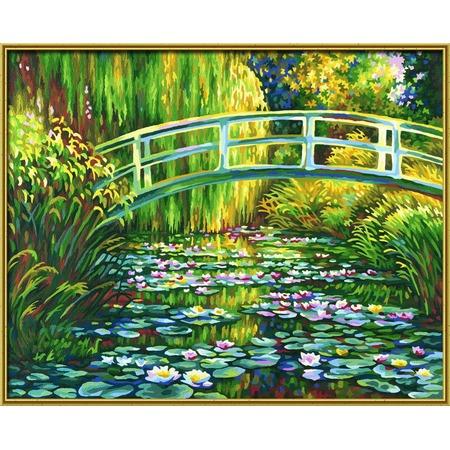 Купить Набор для рисования по номерам Schipper Клод Моне «Пруд с лилиями»