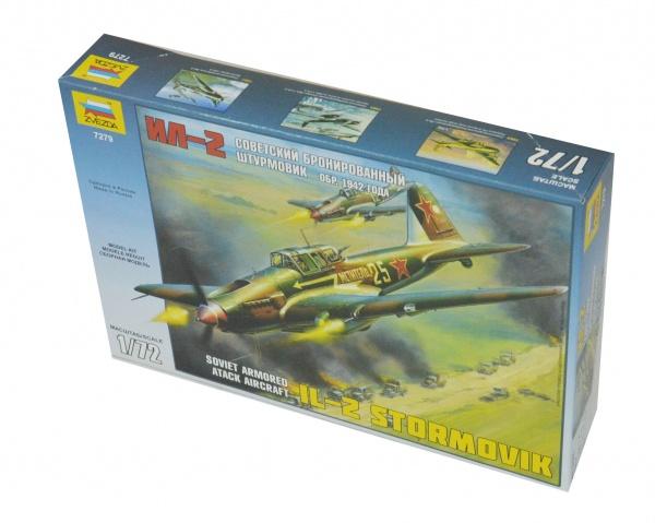 Сборная модель Звезда Самолет Ил-2 (1942 года)