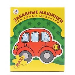 Купить Пазл для малышей Дрофа «Забавные машинки»