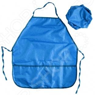 Набор: фартук и нарукавники Проф-Пресс предназначен для таких маленьких, но уже таких любознательных малышей. Представленный комплект крайне полезен на занятиях по лепке, рисованию и другим видам искусств, т.к. помогает защитить одежду ребенка от потеков краски, кусочков глины и прочих видов загрязнений. Фартук выполнен из материала однотонного цвета и оснащен карманами.