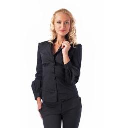 фото Рубашка Mondigo 9642. Цвет: черный. Размер одежды: 44