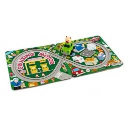 фото Игрушка заводная Жирафики «Машинка с треком»
